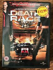 Jason Statham Ian McShane DEATH RACE ~ 2008 Remake Extended Edition UK DVD