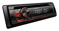 Pioneer Deh-S120ub car stereo Mp3 Cd Player RDS tuner USB Aux-In Android iPhone