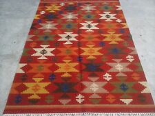 Traditional Vintage Wool Handmade Classic Oriental Area Rug Carpet 150 X 240 cm