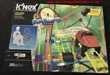KNEX Clock Work Roller Coaster Building Set 305 pieces with motor 15406~NEW~