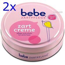 2x bebe Zartpflege ZARTCREME 150ml Dose Feuchtigkeit Creme Gesicht