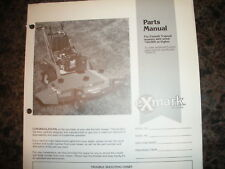 Exmark 5 speed 40,000 & higher parts manual ipl 850075