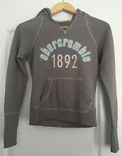 Abercrombie Kids gray longsleeve hooded Sweatshirt (Large)