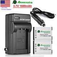 2x NP-BX1 NPBX1 Battery +Charger for Sony DSC-H400 DSC-HX300 DSC-RX100 RX100 II