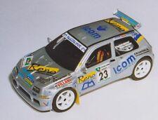 RENAULT CLIO MAXI BERTUZZI RALLY RAAB 1999 DECALS SERIGRAFIA 1/43