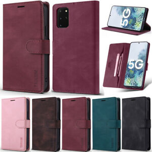 Matte Slim Wallet Leather Flip Cover Case For Samsung A52 A22 A32 A12 S21 S20 S9