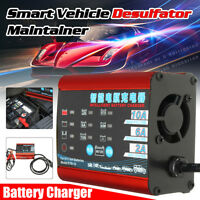 6V/12V Battery Charger 220V Car Motorcycle Smart Vehicle Desulfator Maintainer