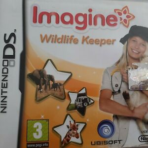 NINTENDO DS GAME IMAGINE WILDLIFE KEEPER COMPLETE WITH MANUAL NICE CONDITION 3+