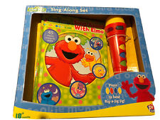 Sesame Street Sing Along With Elmo Light Up Micophonr And Songbook