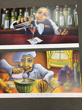 """""""JACK"""" & """"GILBERT""""  (2 FOR 1)  BY WILL RAFUSE - BOTH 39 X 19 1/2 IN. FROM 2000"""