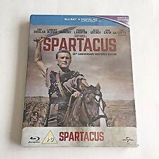 Spartacus Blu-Ray Steelbook [U.K.] 1,000 Print Worldwide! Region Free! RARE! NEW