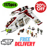 StarWars The Republic Gunship Death DIY Building Blocks Bricks Legoing Kids Toys