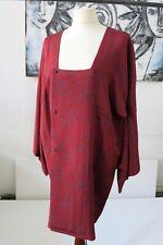 Kimono,Michiyuki, Jacke, Grün, original Japan, handgenäht, vintage Kimono