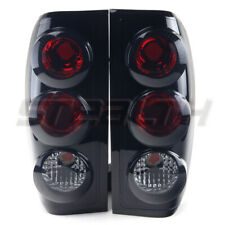For 98-04 Nissan Frontier OE Factory Fit  Lamp Tail Lights Altezza Black Smoke