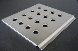 Aluminium Fahrer-Fußplatte Rallye, Driver's  Floorplate, Alu, Rallye, Racing