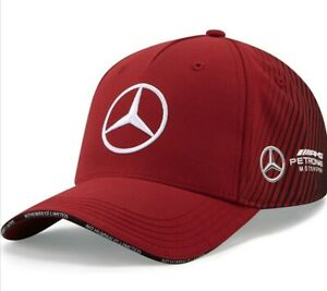 Mercedes F1 2021 Multicolour Red/Black Adult snapback cap - New with tags