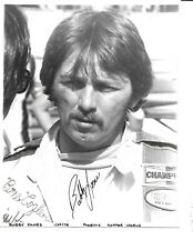 Autographed Bubby Jones USAC Champ Car Auto Racing Photograph