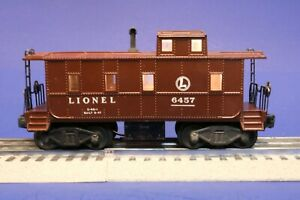 Lionel O Scale Postwar Illuminated Caboose Car 6457