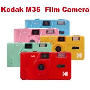 Kodak Vintage Retro M35 35mm Reusable Non-Disposable Film Camera Christmas Gift