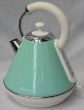 SQ1.8L Cordless Electric Kettle Fast Boil Jug Washable Filter Seafoam Mint Green