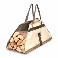 Pyle Armor Shield Log Carrier Bag, Safe Transport For Firewood, 40'' L x 25''