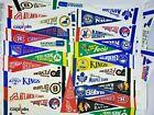 Lot Of 35+ Vintage NHL Pennants Hocks Mini - California Seals KC Scouts Minn