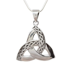 Celtic Knot Pendant Made from 925 Sterling Silver Pendant for Men and Women