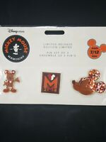 Mickey Mouse Memories Pin Set 7/10 July 2018 New in Package Limited edition