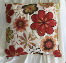 PIER I® One  Floral Crewel Embroidered Decorative Pillow Throw