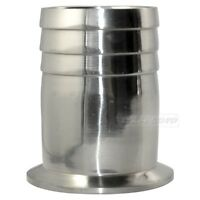 """51MM 2"""" OD Sanitary Hose Barb Adapter Pipe Fitting Fits TRI CLAMP (OD 64mm)"""