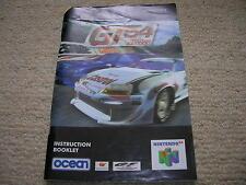 GT64 - Instruction Booklet/Manual - Nintendo 64 / N64