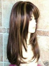 643 New Long Golden brown mixed wig