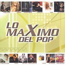 Maximo del Pop (CD, Oct-2003, Sony Music Distribution )