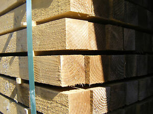 75MM X 75MM BROWN TREATED FENCE POSTS VARIOUS LENGTHS