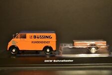DKW Schnellaster with trailer Bussing in scale 1/43 Schuco RARE Limited edition