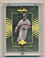 1994 Leaf Limited #10 BARRY BONDS San Francisco Giants #718/10000