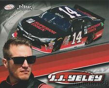 2017 J.J. Yeley Superior Essex Toyota Camry NASCAR Xfinity postcard