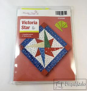 MATILDAS OWN - Victoria Star Patchwork Template Set - 4 Pieces