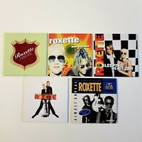ROXETTE ♦ Lot 5 x CD SINGLE ♦ inc. PROMO, B-SIDES, THE LOOK, FIREWORKS...