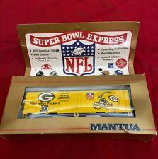 Mantua NFL super bowl green bay packers HO new Train