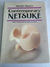 CONTEMPORARY NETSUKE  by Miriam Kinsey (1978, Hardcover) Japanese Art