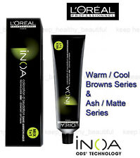 L'Oreal Professionnel Inoa ODS2 Hair Color Ammonia Free 60g Browns / Ash