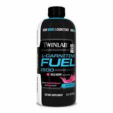 Twinlab L-Carnitine Fuel 1500 Fat Burner Weight Loss Energy 16 fl oz Wild Berry