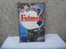 PLAQUE EMAILLEE FULMEN GRAND MODEL