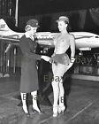 Vintage Stewardess 8X10 Photo Reprint