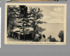 pk34042:Postcard-Looking Crow Lake from Lookout,Marble Point Lodge,Marmora,Ont