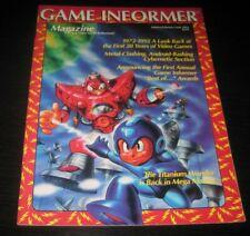 Vintage Game Informer Magazine Nintendo PS Playstation video games 1993 issue 8