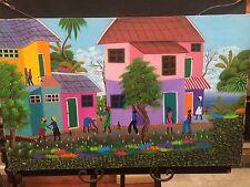 Fritz Millevoix Haitian Artist Original