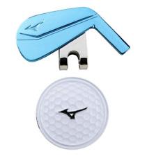Mizuno Japan Golf Ball Cap Clip Marker Iron 5LJD192100 Blue