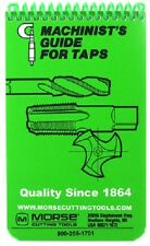 Machinist's Guide for Taps Pocket Manual Handbook, Morse 20404, Tb1